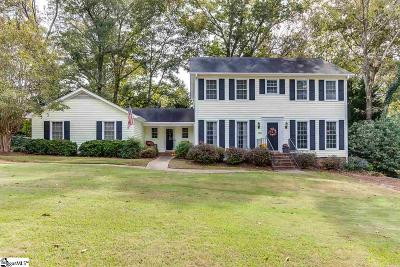 Greenville County Single Family Home For Sale: 108 Meaway
