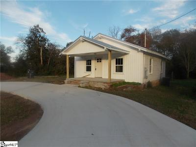 Pelzer Single Family Home For Sale: 5 Welborn