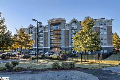 Greenville County Condo/Townhouse For Sale: 1001 S Church #607