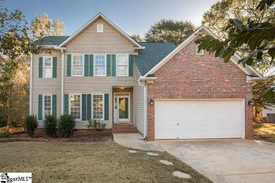 Mauldin Single Family Home Contingency Contract: 23 Marsh Creek