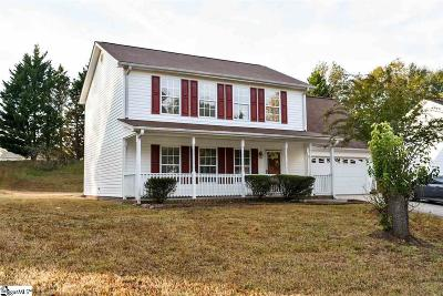 Simpsonville Single Family Home For Sale: 207 Two Gait