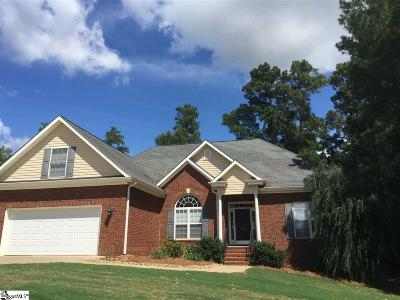 Anderson Single Family Home For Sale: 206 James Lawrence Orr