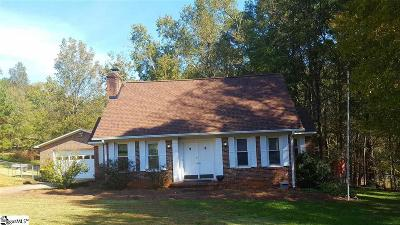Easley Single Family Home Contingency Contract: 205 Williamsburg