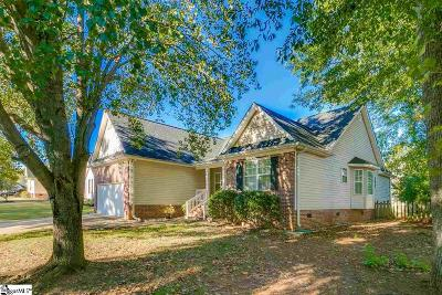 Simpsonville Single Family Home Contingency Contract: 307 Windy Meadow