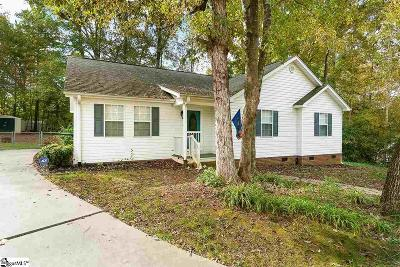Easley Single Family Home Contingency Contract: 221 Joes