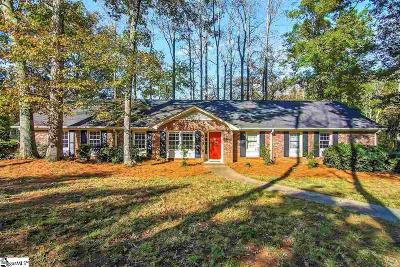 Mauldin Single Family Home Contingency Contract: 116 Muirwood