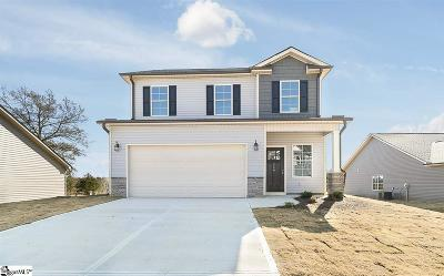 Greer Single Family Home For Sale: 114 Palmetto Valley