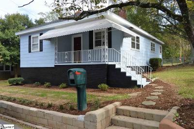 Easley Single Family Home Contingency Contract: 301 Blair