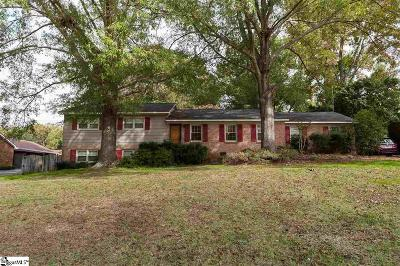 Spartanburg Single Family Home For Sale: 323 Holly