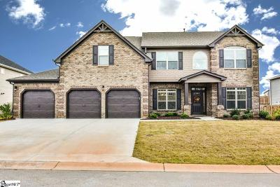 Simpsonville Single Family Home For Sale: 108 Ashcroft