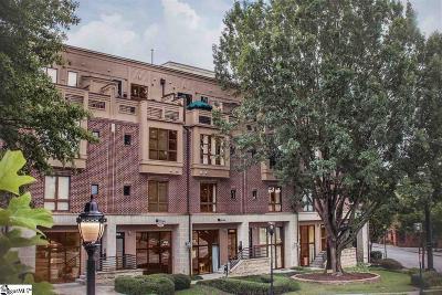 Greenville Condo/Townhouse For Sale: 408 River