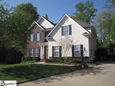 Simpsonville Single Family Home Contingency Contract: 4 Glen Hawk