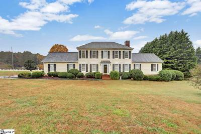 Taylors Single Family Home For Sale: 211 Mountain Crest