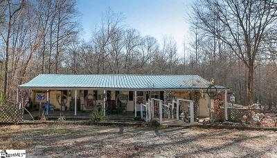Laurens Single Family Home For Sale: 4189 Highway 49