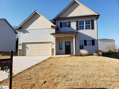 Anderson Single Family Home For Sale: 134 Shakleton