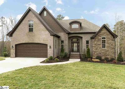 Easley Single Family Home For Sale: 114 Woodcross