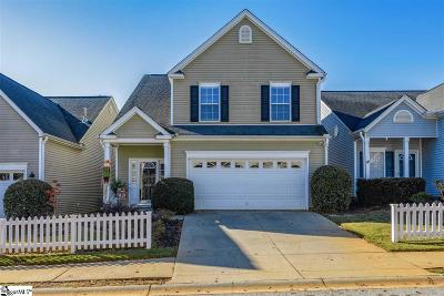Simpsonville Single Family Home For Sale: 405 Bass Harbor