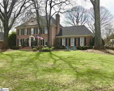 Greenville Single Family Home For Sale: 8 Ashwicke
