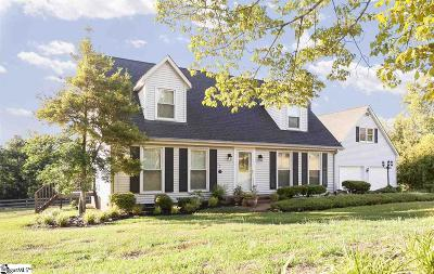 Greer Single Family Home For Sale: 68 Caleb