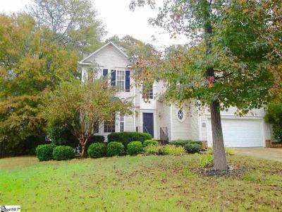 Fountain Inn Single Family Home For Sale: 701 Sugar Maple