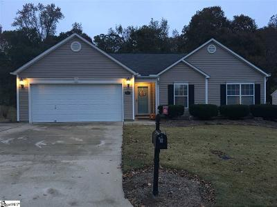 Fountain Inn Single Family Home For Sale: 501 Fountainbrook