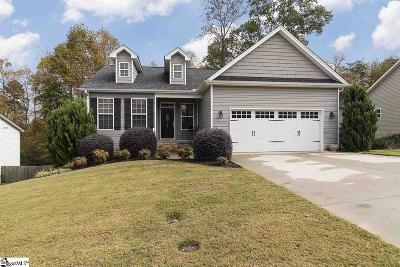 Greenville County Single Family Home For Sale: 109 Ledge Run