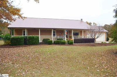 Greer Single Family Home Contingency Contract: 4503 N Highway 14