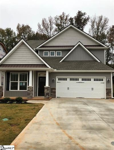 Taylors Single Family Home For Sale: 102 Creekland #Lot 6