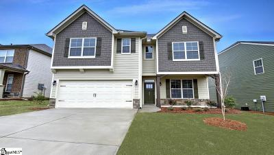 Simpsonville Single Family Home For Sale: 606 Troutdale