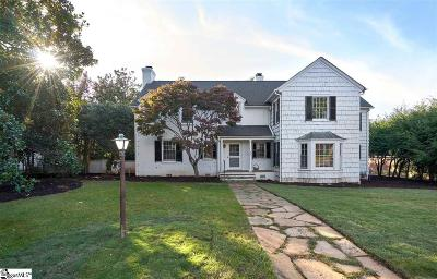 Greenville Single Family Home For Sale: 416 Belmont