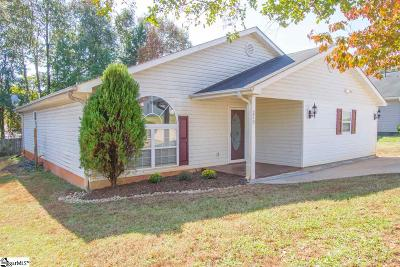 Greenville County Single Family Home For Sale: 210 Ridgeover