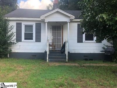 Spartanburg Single Family Home For Sale: 522 Wildwood