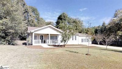 Spartanburg Single Family Home For Sale: 724 Mike