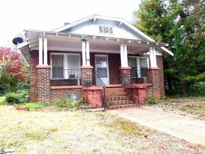 Greenville Single Family Home For Sale: 207 Douthit