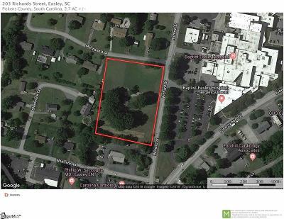 Easley Residential Lots & Land For Sale: 203 Richard