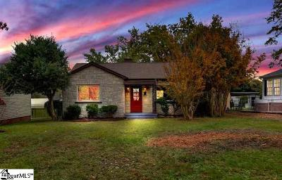Greenville Single Family Home For Sale: 218 Beth