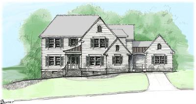 Simpsonville Single Family Home For Sale: 31 Meadow Reserve #Lot 21