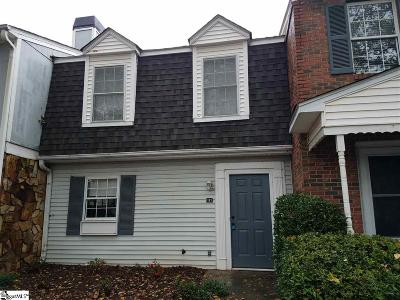 Greenville County Condo/Townhouse For Sale: 111 Shadytree