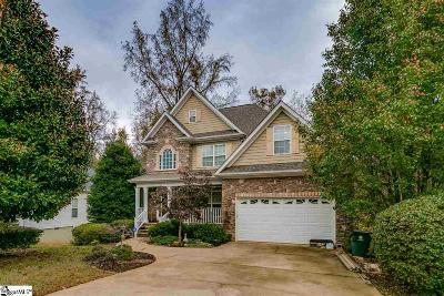 Simpsonville Single Family Home For Sale: 607 Chaulk Hill