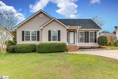 Easley Single Family Home For Sale: 190 Sheriff Mill