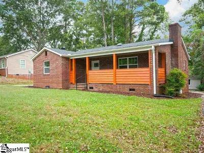 Spartanburg Single Family Home For Sale: 442 Old Boiling Springs #442