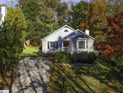 Greenville Single Family Home For Sale: 1020 Summit