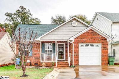 Greer Single Family Home Contingency Contract: 106 Cosmos