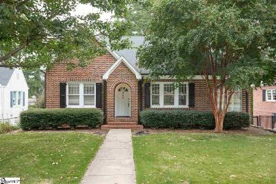 Greenville Single Family Home For Sale: 25 Warner