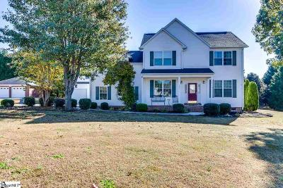 Easley Single Family Home For Sale: 107 Planters Walk