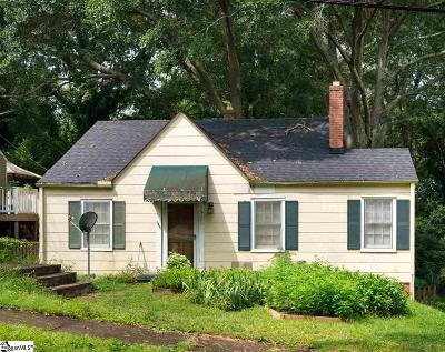 Greenville SC Single Family Home For Sale: $140,000