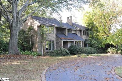 Greenville Single Family Home For Sale: 808 McDaniel