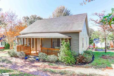 Easley Single Family Home Contingency Contract: 200 S 9th