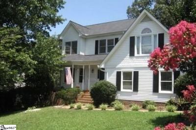 Greer Single Family Home For Sale: 309 Deepwood