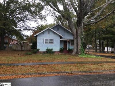 Greenville Single Family Home For Sale: 8 N Ymca